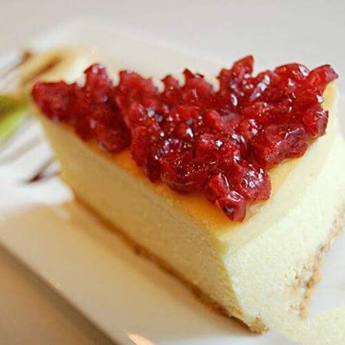 椰奶蔓越莓蛋糕