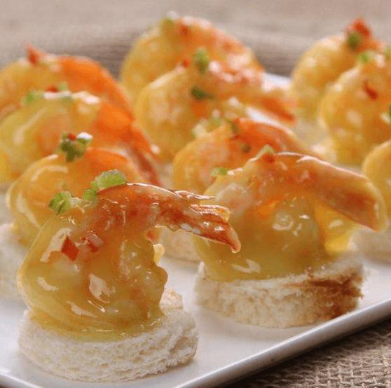 芥末蛋黄虾