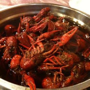 美味的外婆的铜盆虾