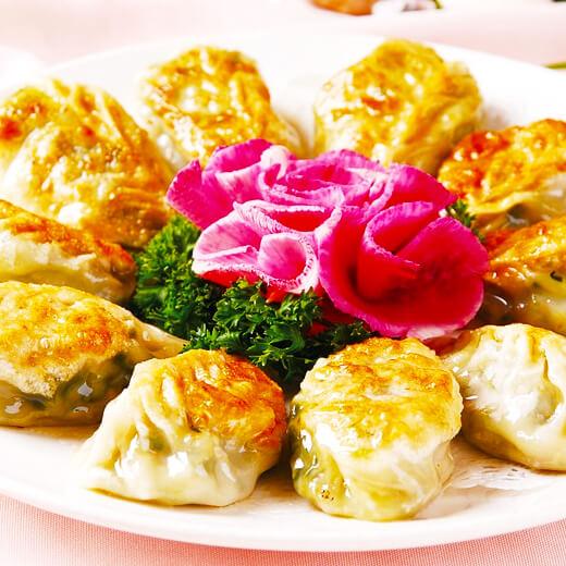 美味的茴香煎饺