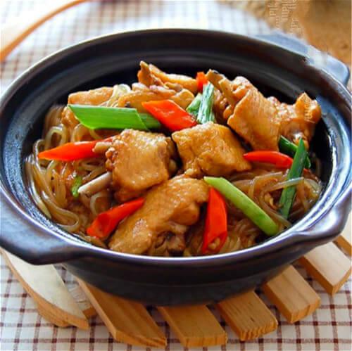 腐乳豆豉鸡翅煲