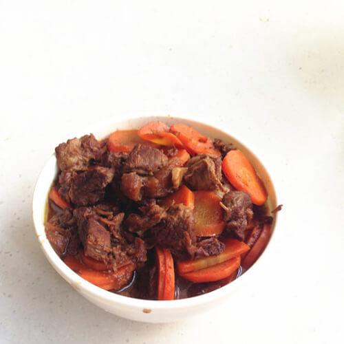 红烧胡萝卜羊肉