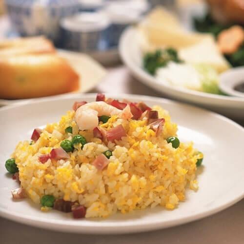 海鲜鸡蛋炒饭