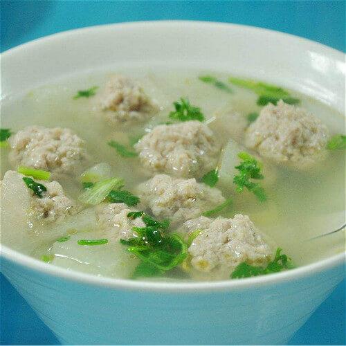 薏米丸子蔬菜粥