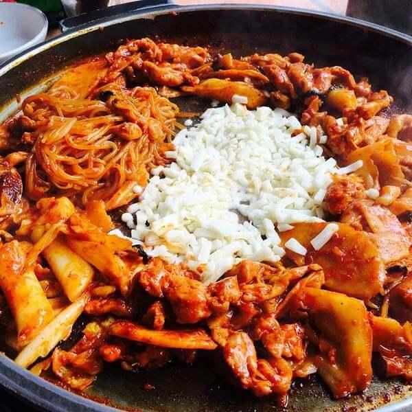 韩式铁板鸡