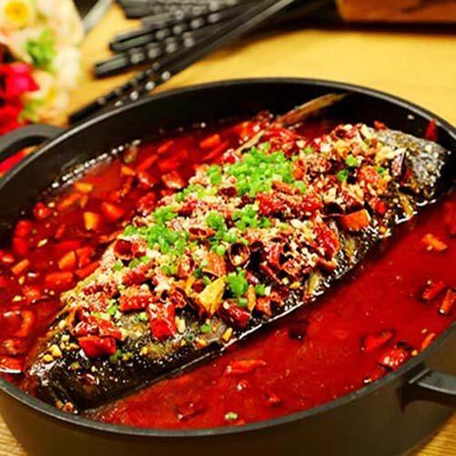 三文鱼头火锅