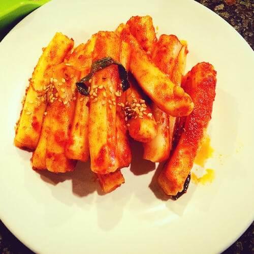 韩式烤肉炒年糕