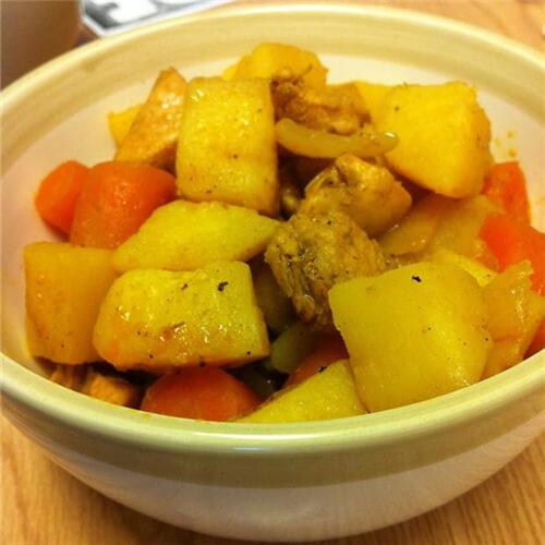 咖喱洋葱土豆