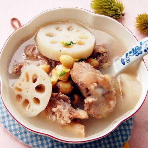 木瓜黄豆骨头汤