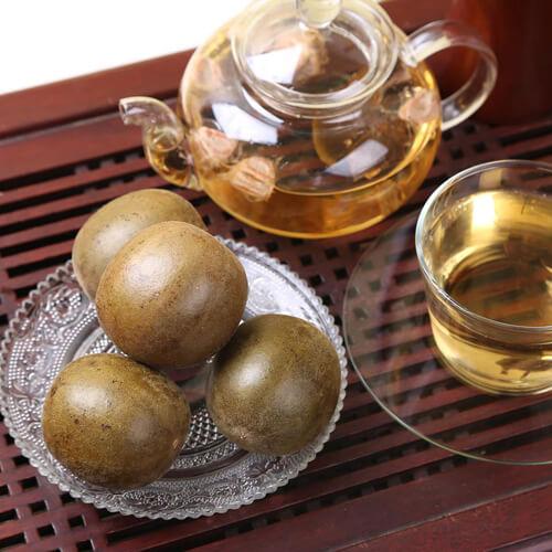我爱喝罗汉果润喉茶