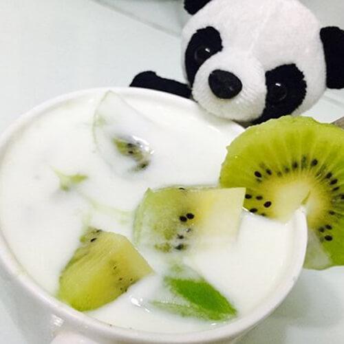 大果粒儿童酸奶