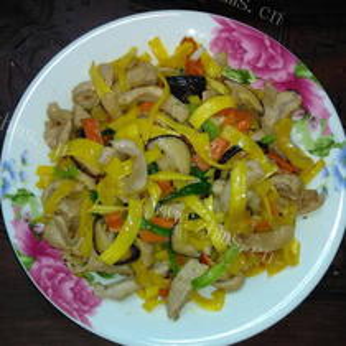 菠萝蜜炒肉
