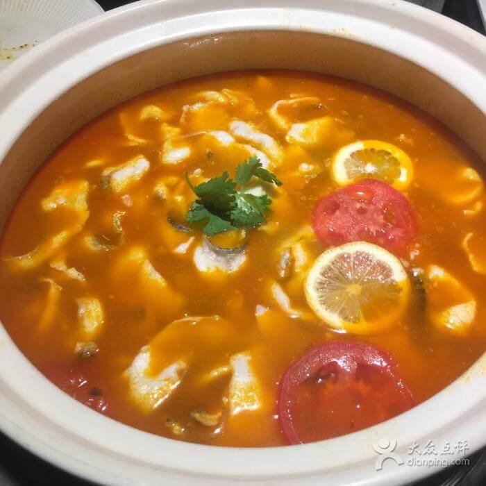 鲜香西红柿番茄黄甲鱼汤