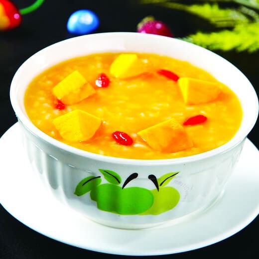 南瓜红枣枸杞糯米粥