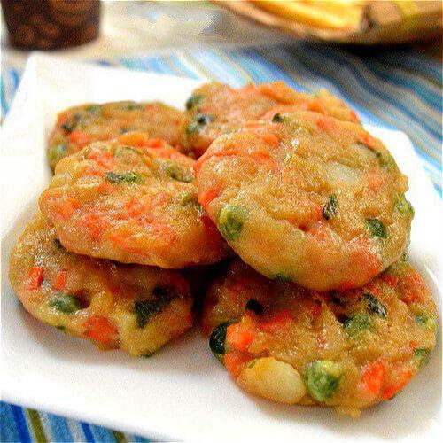 胡萝卜土豆香饼