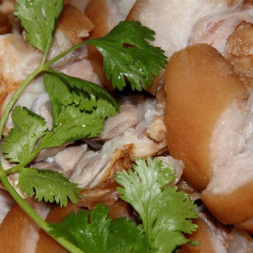 卤水猪肘~美味健康