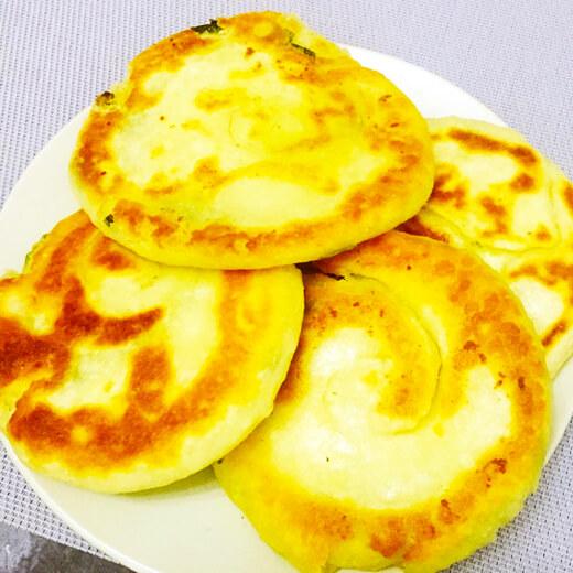 香葱油酥饼