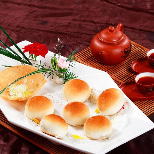 香橙燕麦小餐包