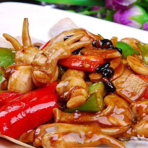 爆炒蛏子(加花蛤)
