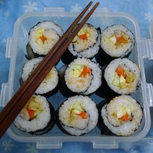 日系的海藻寿司