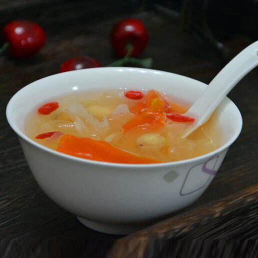 木瓜银耳莲子百合汤