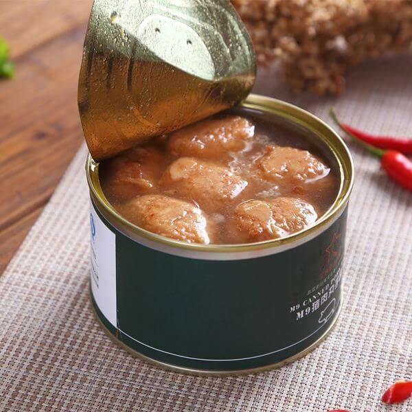 架豆王焖红烧猪肉罐头