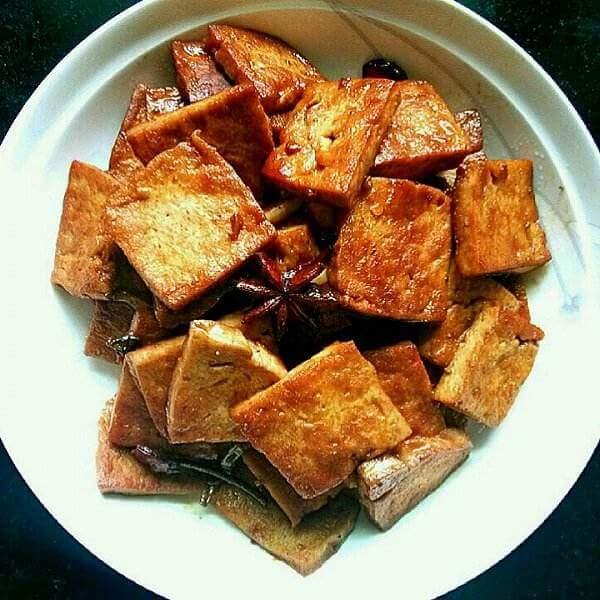 孜然鱼豆腐