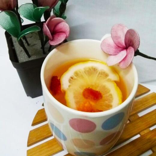 草莓柠檬蜜饮