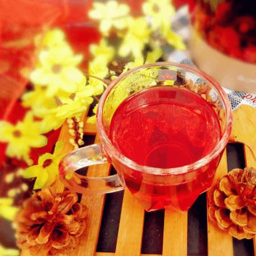 洛神玫瑰枸杞茶