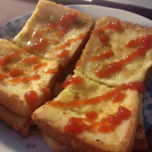 美味孜然面包片