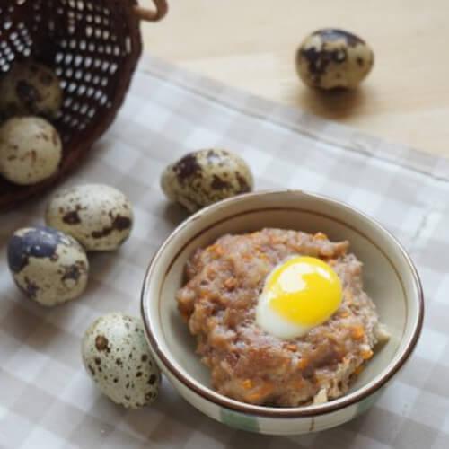 肉饼炖鹌鹑蛋