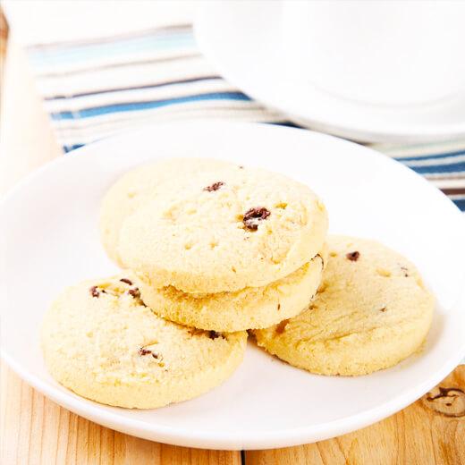 黄油圆形饼干