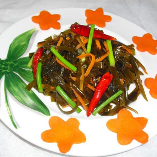 蒜苔炒凉菜
