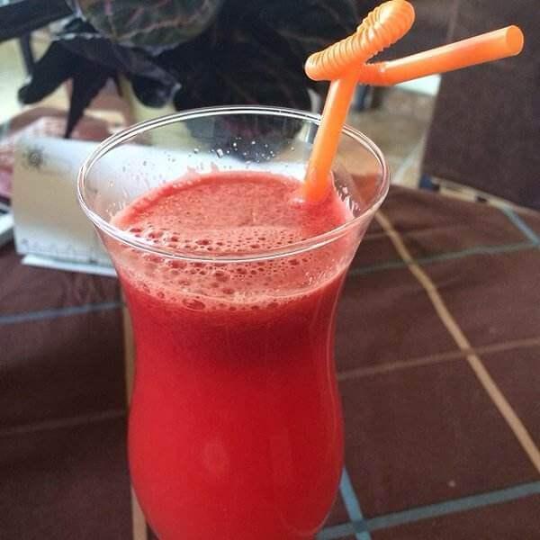 桃胶西瓜汁