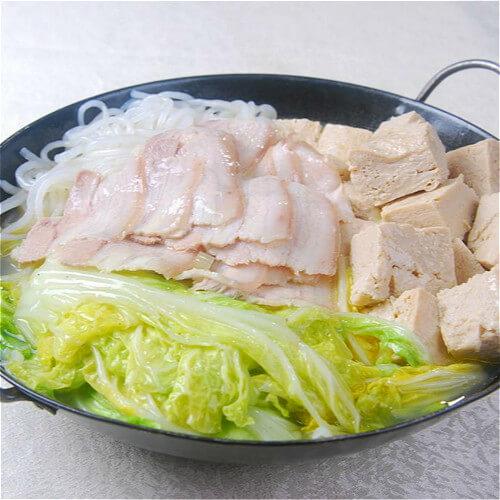 大白菜肉末炖粉条
