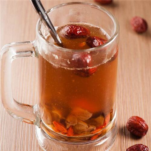 好喝的糯米红枣茶