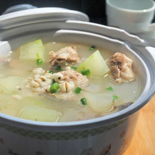 鲩鱼尾冬瓜薏米汤