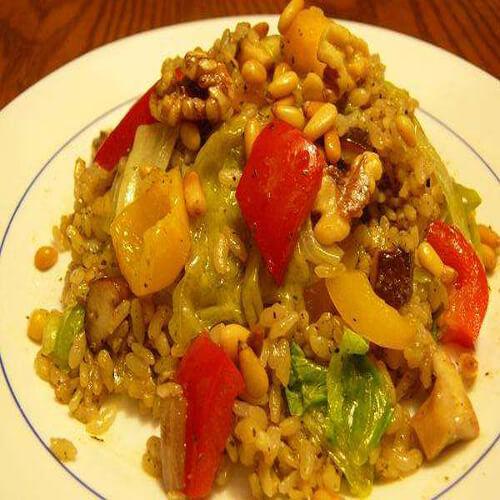 香椿松子炒饭
