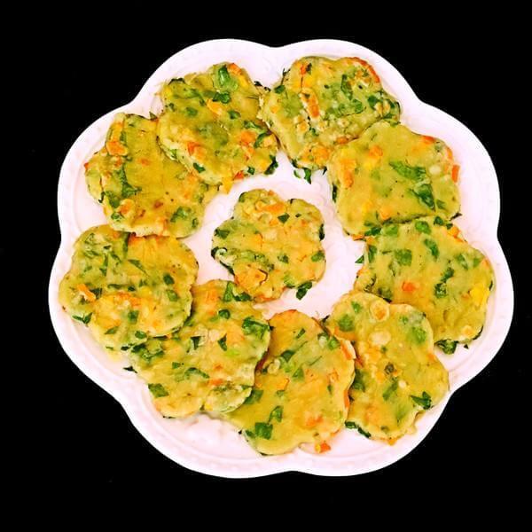 蔬菜粗粮饼