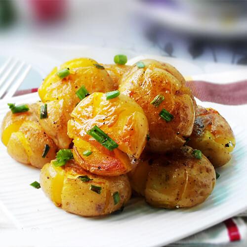 香辣香草小土豆
