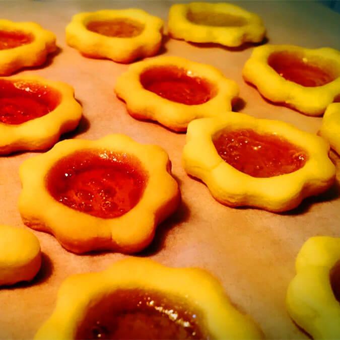 美味的榴莲糖饼干