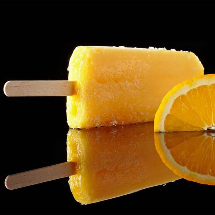 阳光橙子冰棍