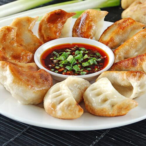 香椿牛肉煎饺