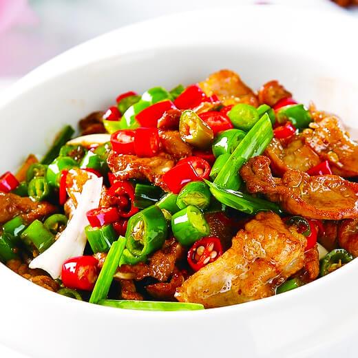 瘦肉炒榨菜