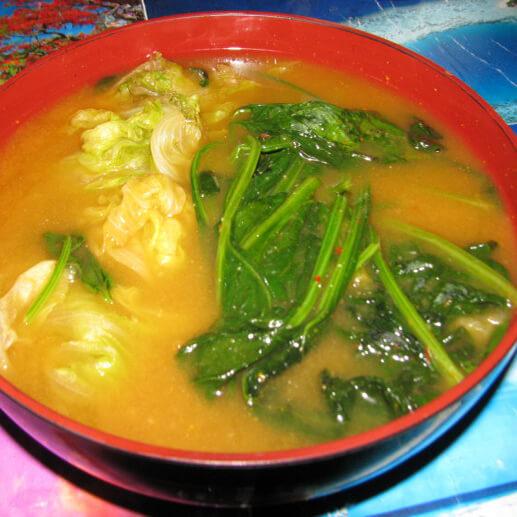 牡蛎蔬菜汤