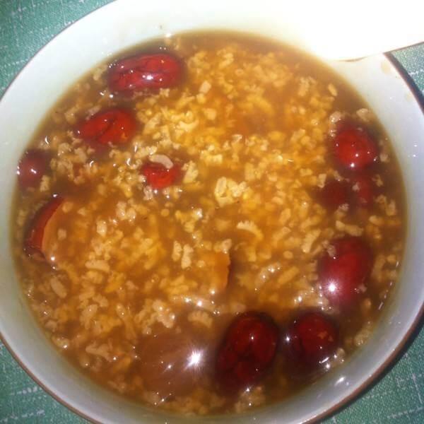 苹果银耳汤圆糯米粥