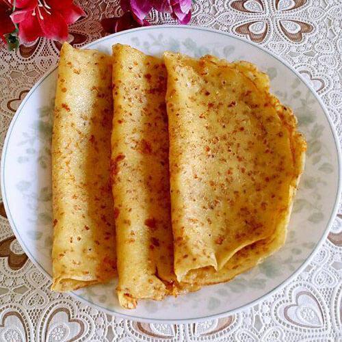 玉米面芝麻鸡蛋饼