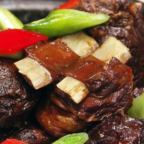 红烧羊肉烩饭