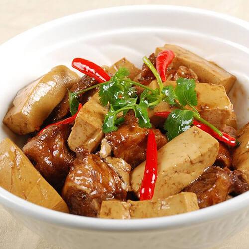 大骨白菜炖豆腐