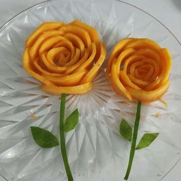 漂亮的的玫瑰水果花